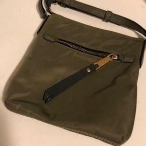 Marc Jacob Crossbody olive green nylon bag
